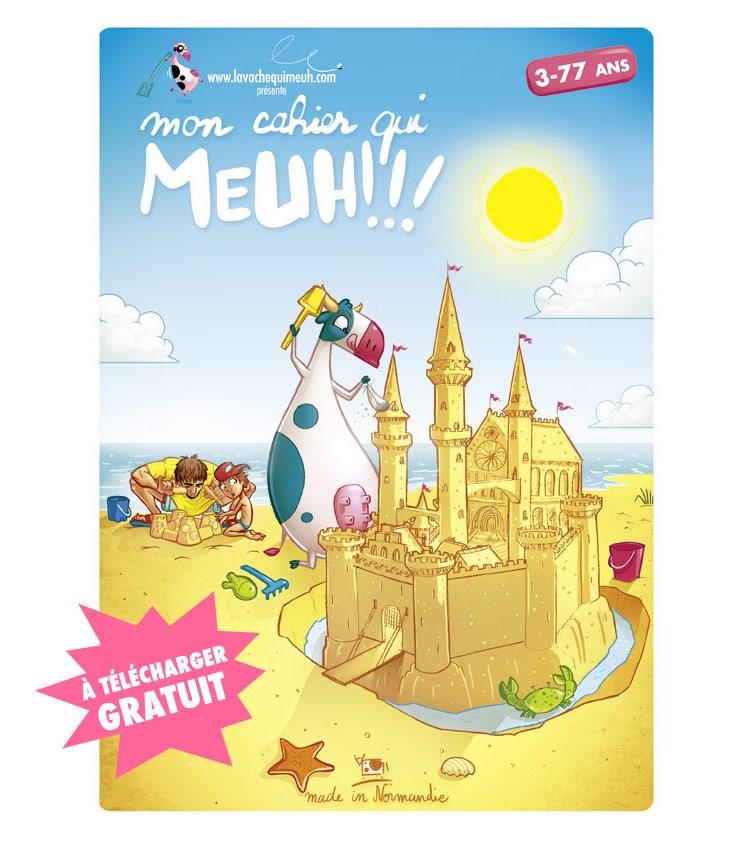 Mon cahier qui MEUH by Djoz