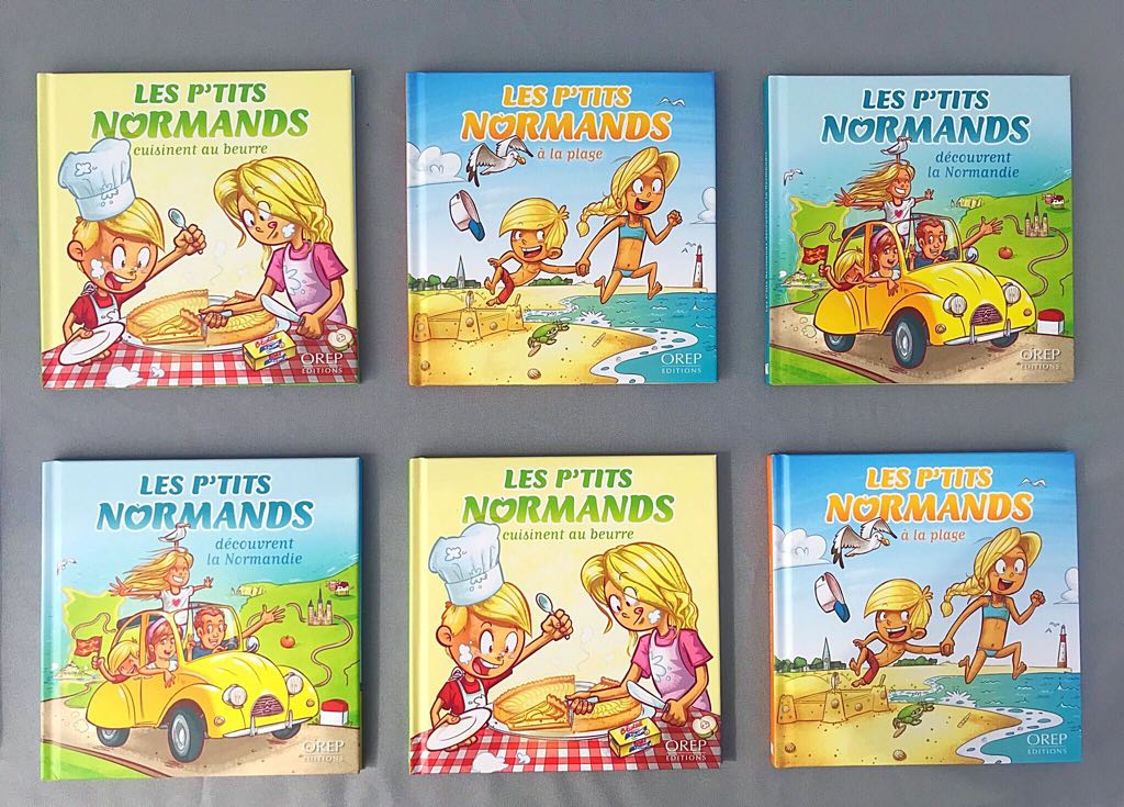 Les P'tits Normands - Orep editions by Djoz