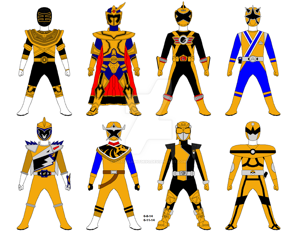 Gold Ranger Tribute by Toaoflight3690