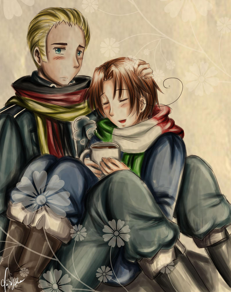 Hetalia : Winter by spogunasya