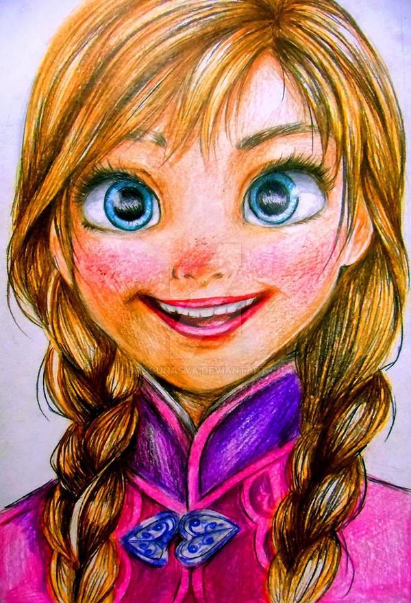 Frozen : Anna by spogunasya