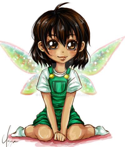 Art Trade : Little Miss Fairy by spogunasya