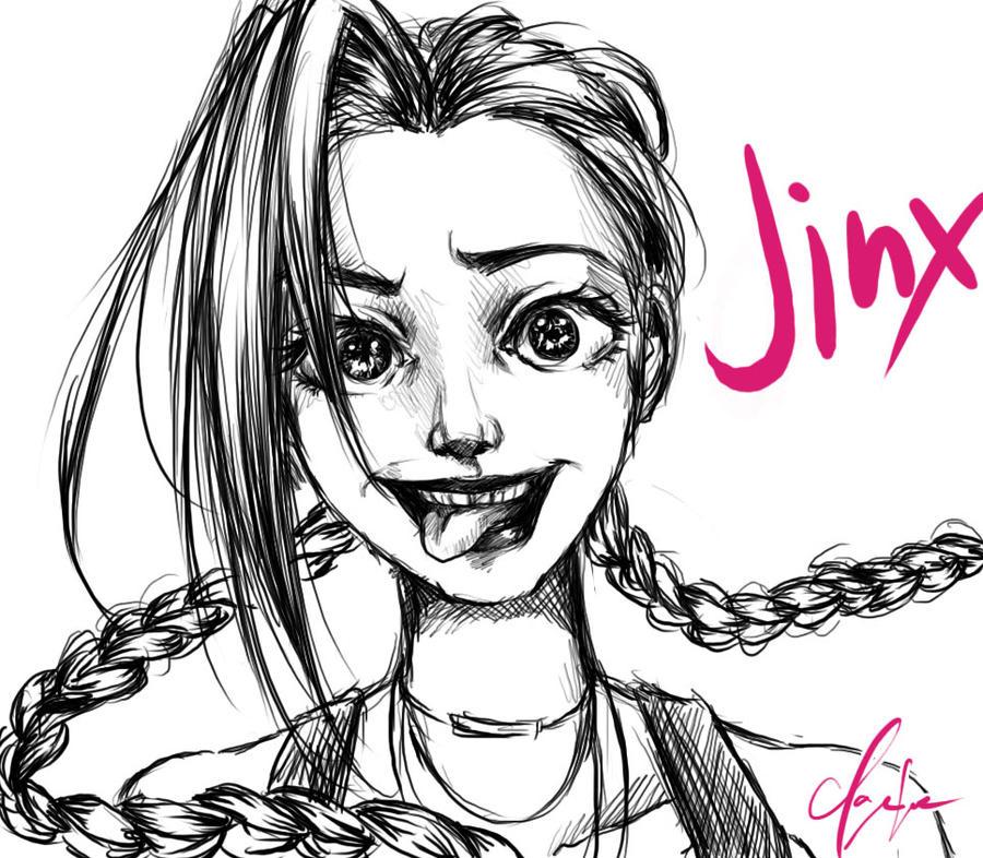 LoL : Jinx by spogunasya