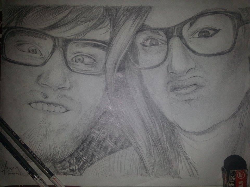 PewDiePie : Felix and Marzia by spogunasya