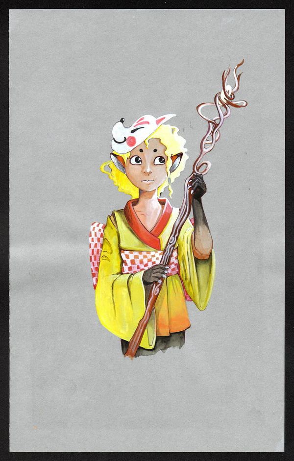 Kitsune by veternity