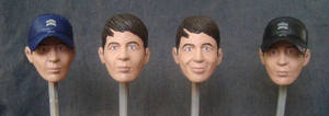 1/6 Custom heads painted