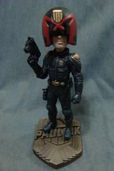 Judge Pauliuk bobblehead figure v5