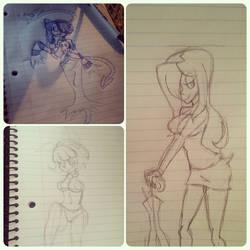 Skullgirls Sketch Dump