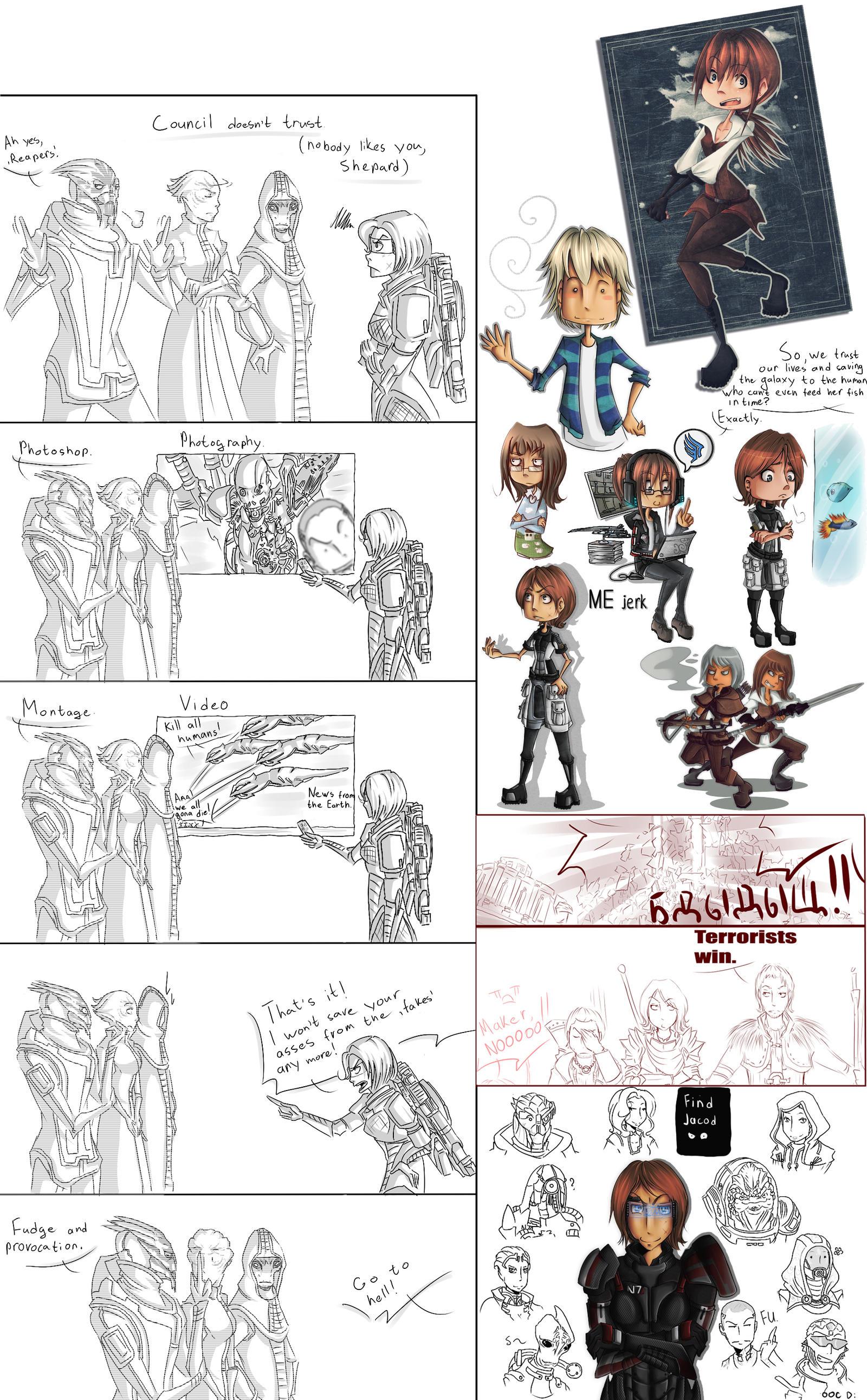 Another sketch dump by Kiany-kun