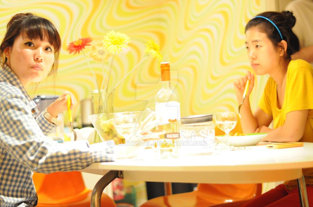 Asian dinner by CClyHostel