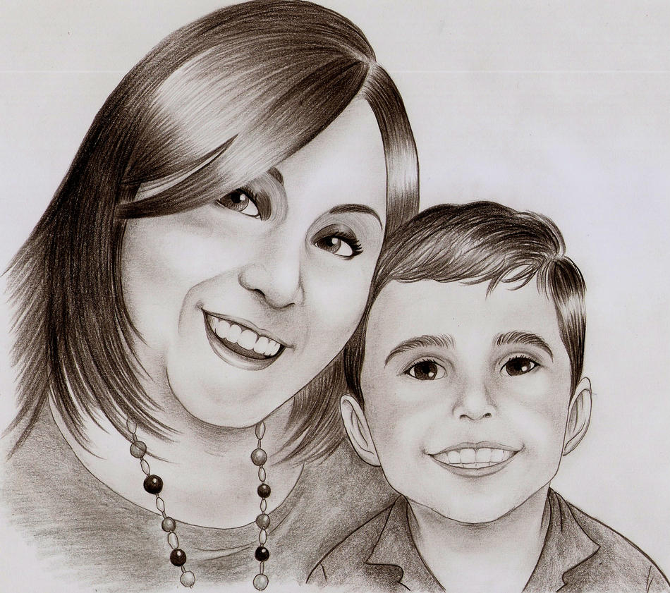 Mother and Son by Daviinc