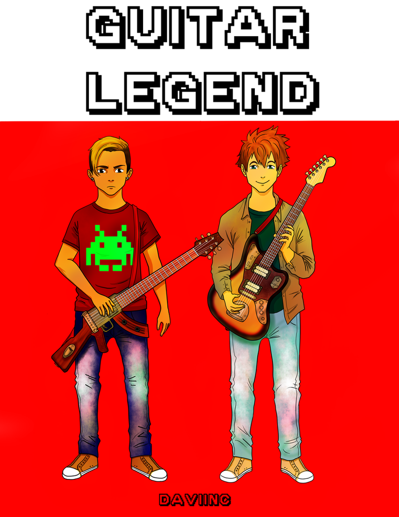 Guitar Legend by Daviinc