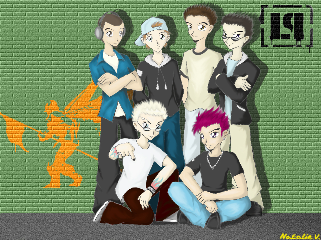 Linkin Park by Natalie-chan