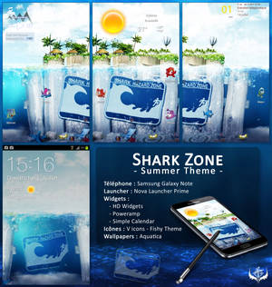 Shark Zone Theme