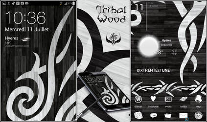 Tribal Wood