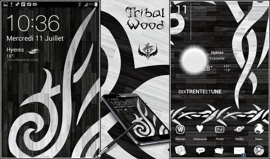 Tribal Wood by Koori-jmc
