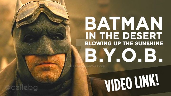 Batman's nightmare [VIDEO] BYOB System of a Down by cellebg