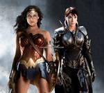 Wonder Woman and Faora face swap