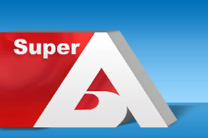 Super A logo 'redesign' by M3webz