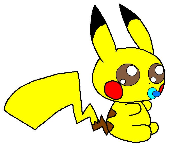 Cute baby pikachu - photo#19