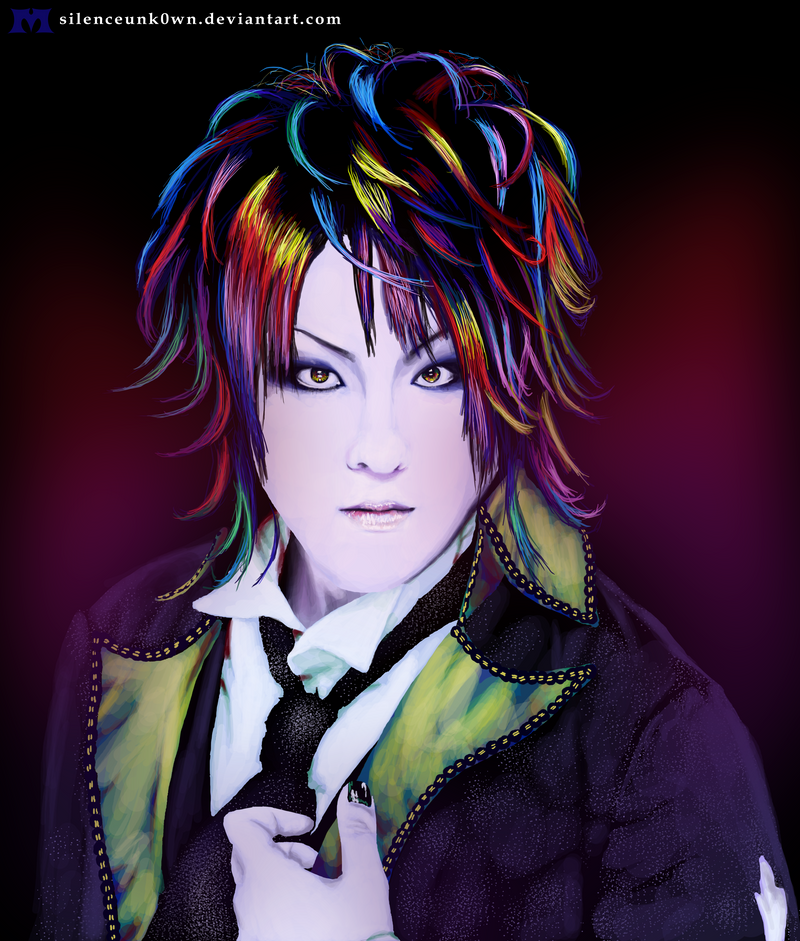 Zukki_Colorful Portrait by MSilenceART