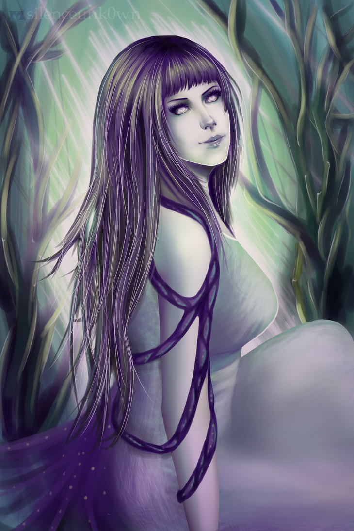Mystical Hinata by MSilenceART