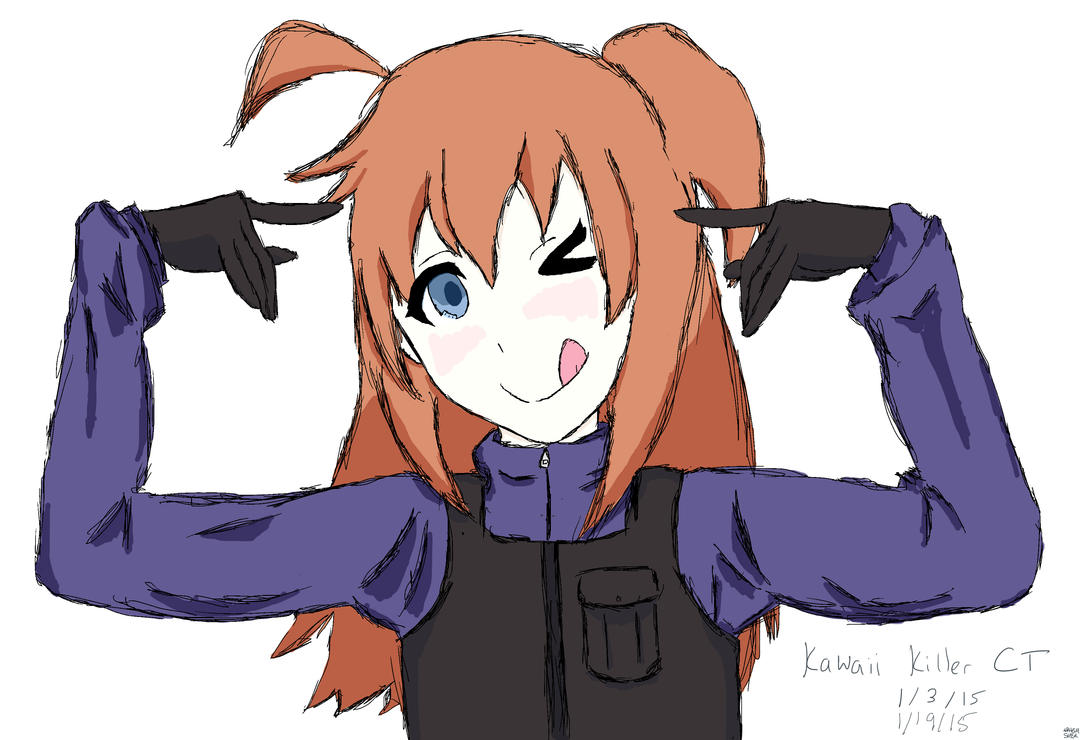Kawaii Killer CT (Meme-chan pose) by SayHiForMe