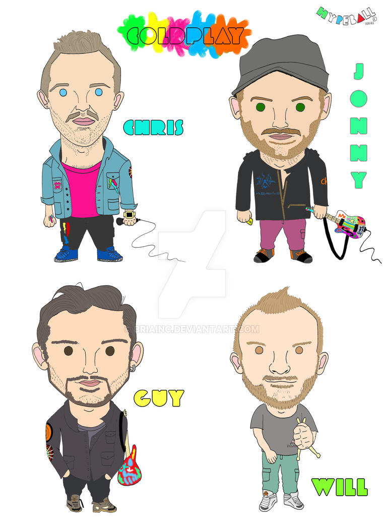 COLDPLAY MYLO XYLOTO by BRIAINC