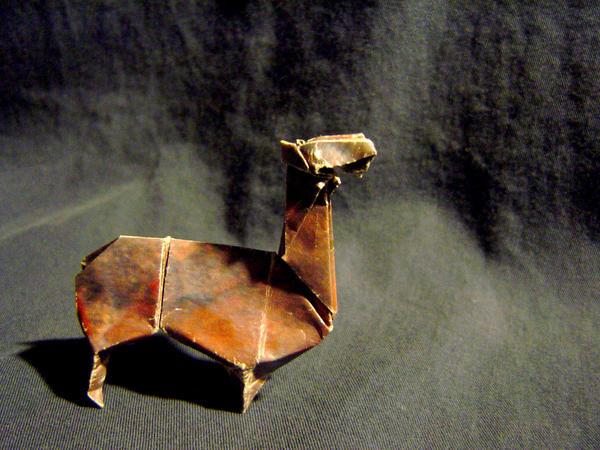 Origami Llama By Jazzeria On Deviantart