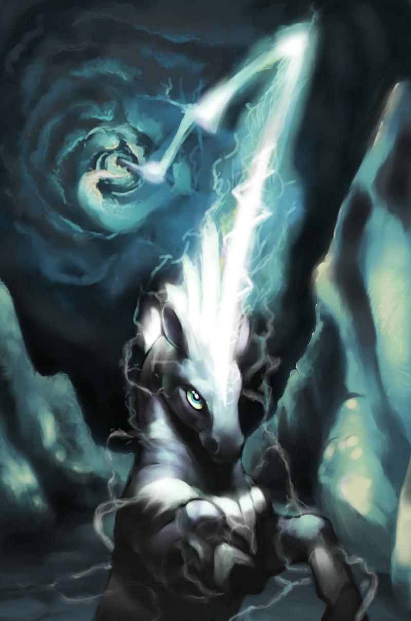 Lightning Rod by rajewel