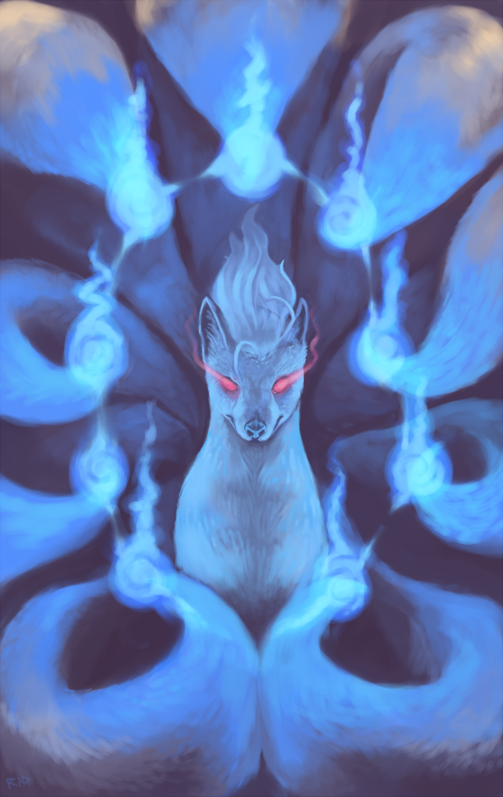 Fox Fire by rajewel