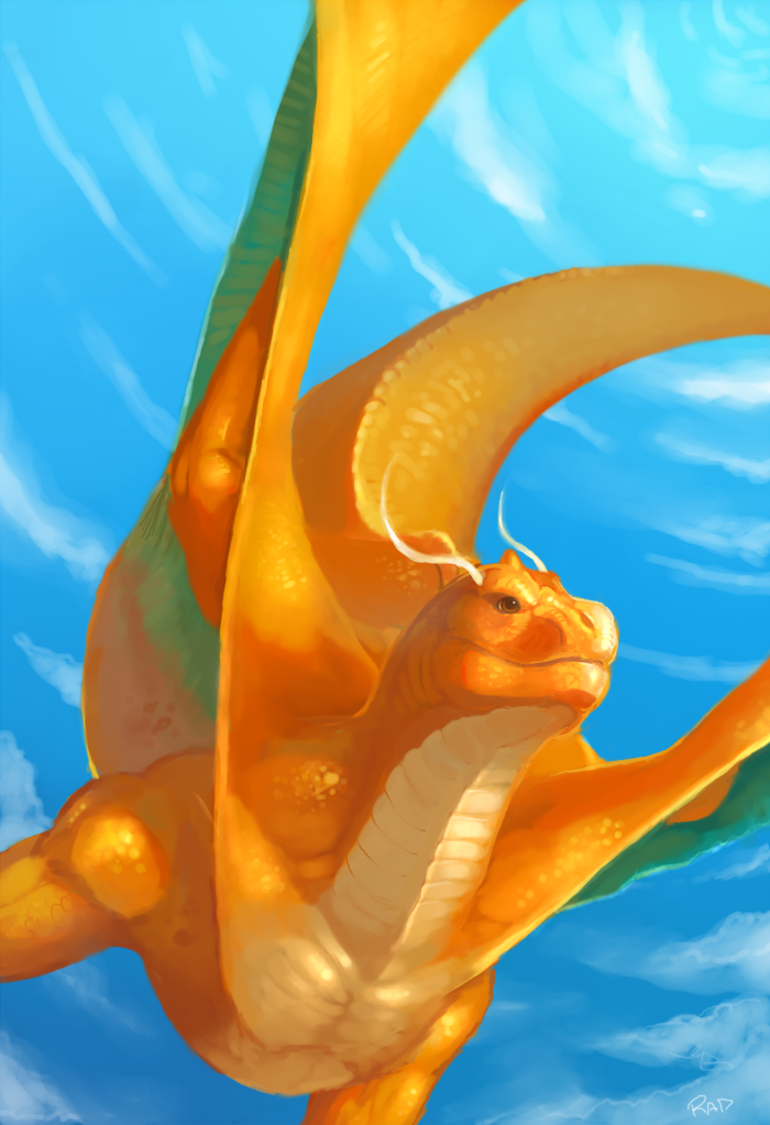 Dragonite by rajewel