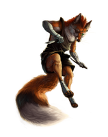 Foxy Assassin by rajewel