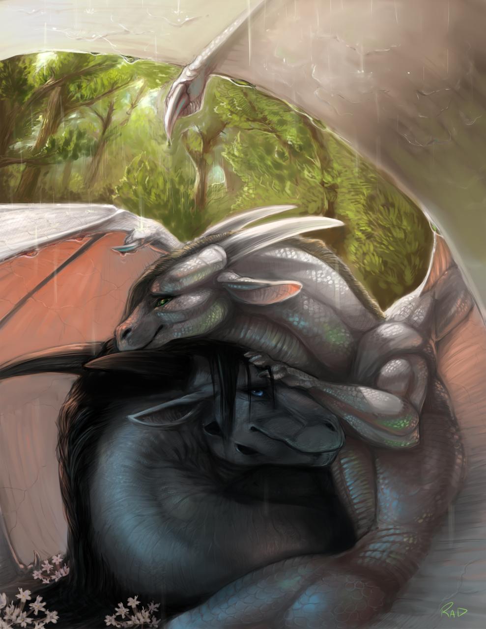 Commission: Necrodrone13 by rajewel