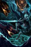 Commission: Magicbunbun 2- 3 on 1