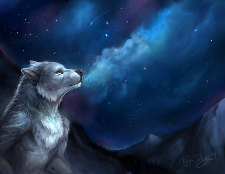 Breathe out the Stars