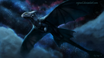 Flight of the Night fury by rajewel