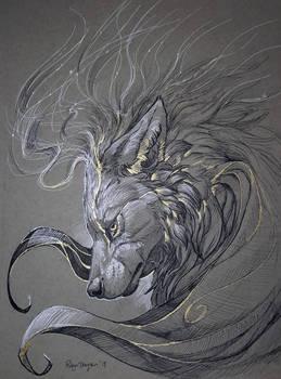 Inktober - Spirit Flow