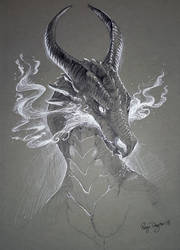 Inktober - Flames