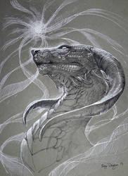 Inktober- Spirit Drain