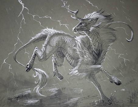 Inktober - Storm