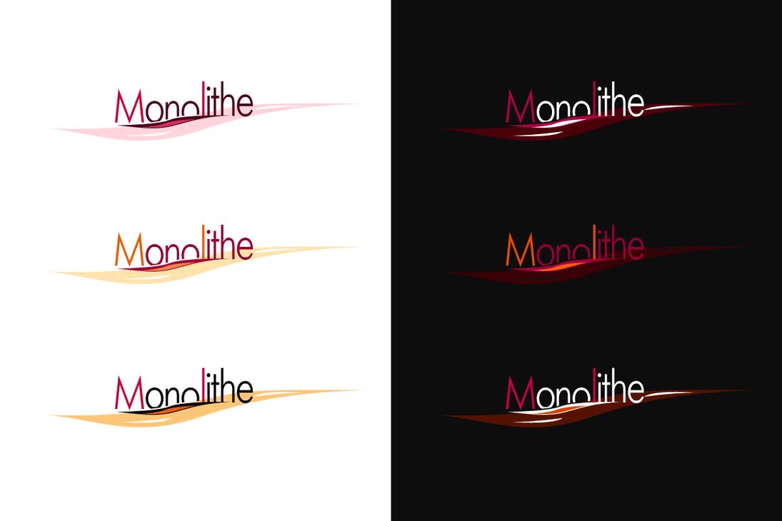 Monolithe Logotype by Firless