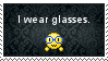 Glasses Stamp by NurseRabs
