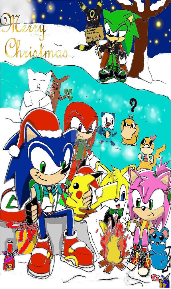 Sonic pokemon christmas contest by 4sonicfan on deviantart - Shadow the hedgehog pokemon ...