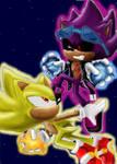 Super scourge VS super Sonic