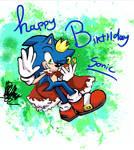 happy 29th birthday Sonic