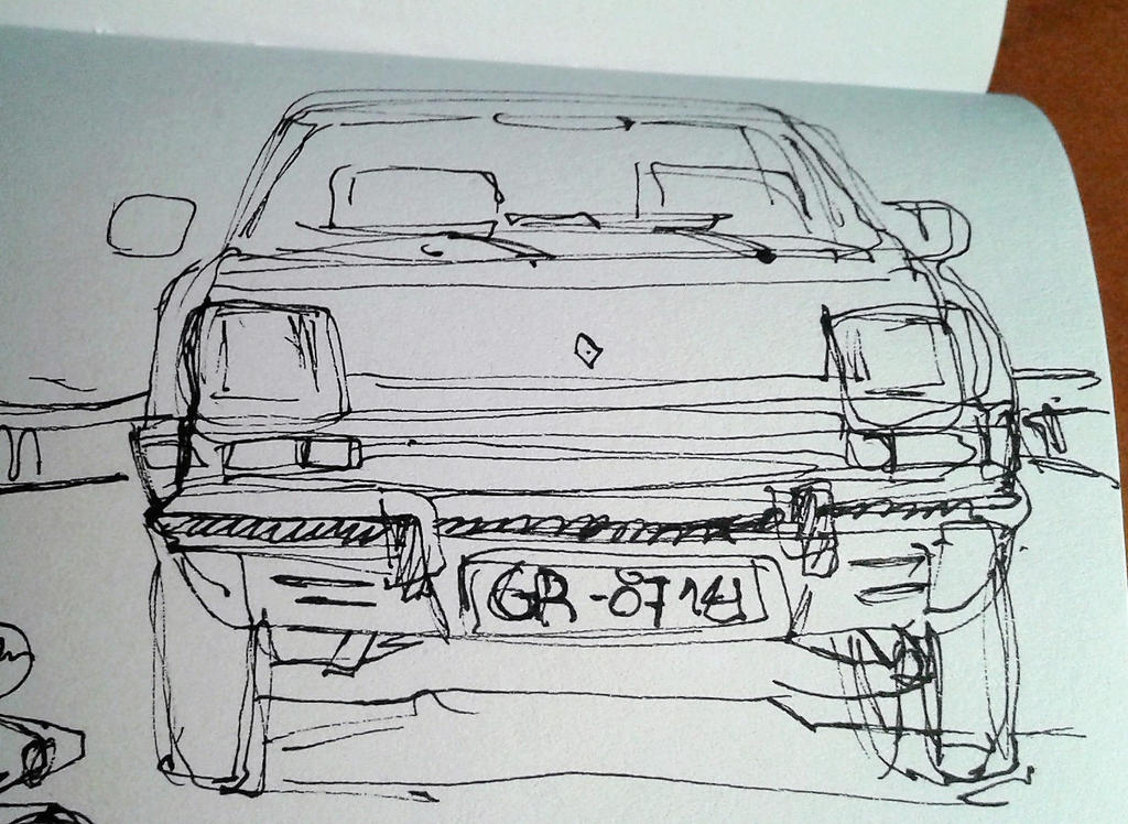 Renault 5 gtl by ams43