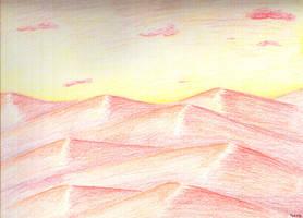 Desert by seraaches