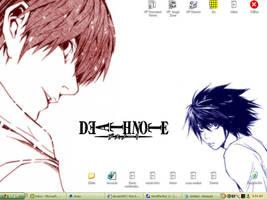 Deathnote Desktop by seraaches