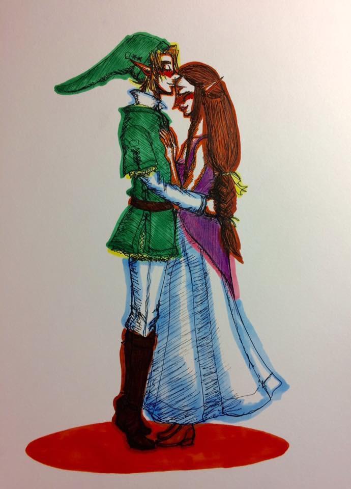 A forehead kiss by Jinjintszkam